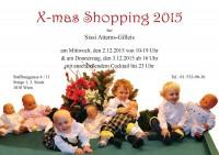 X-MAS shopping 2015