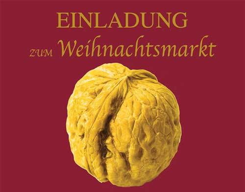weihnachtsmarkt goldene nüsse