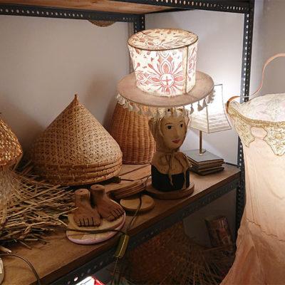 lori rosenberg - tischlampe kopf